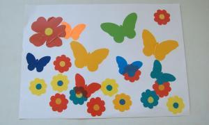 10 Цветы и бабочки воспитатель Кузнецова Т.Г.