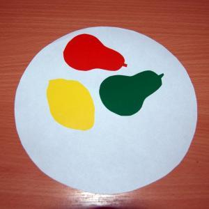 8 тарелка с фруктами